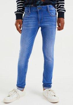WE Fashion - Slim fit -farkut - light blue