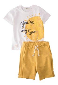Cigit - Shorts - off white/yellow