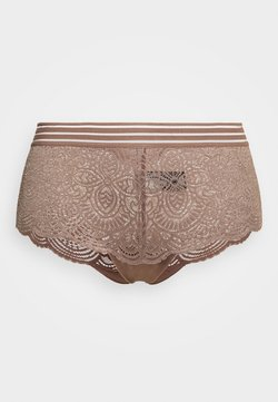 Ashley Graham Lingerie by Addition Elle - ESSENTIAL BOYSHORT - Panties - deep taupe