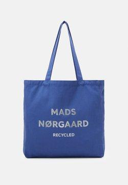 Mads Nørgaard - BOUTIQUE ATHENE - Shoppingveske - blue violette/silver