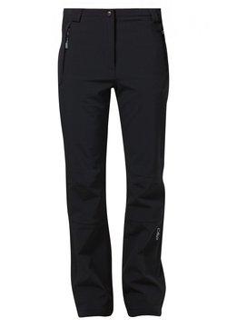 CMP - WOMAN LONG PANT - Stoffhose - nero