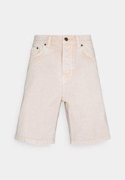 Carhartt WIP - NEWEL PARKLAND - Denim shorts - dusty brown worn washed