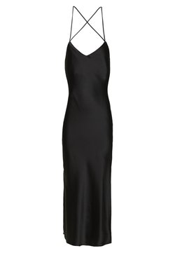 Topshop - MIDI SLIP - Day dress - black