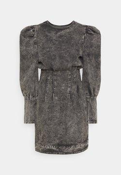 Missguided Tall - PUFF SLEEVE DRESS - Vestito estivo - black