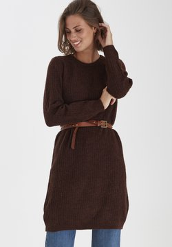 Fransa - FRMESANDY - Jumper dress - chocolate fondant melange