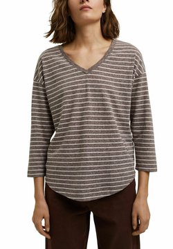 Esprit - Langarmshirt - rust brown