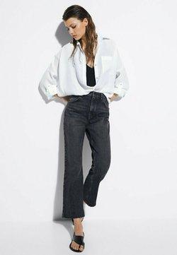 Massimo Dutti - Jeans a zampa - black