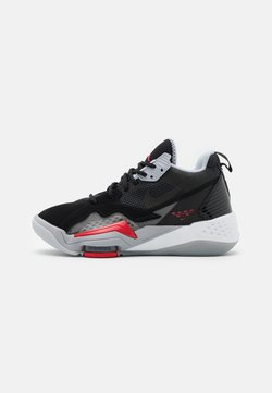 Jordan - ZOOM '92 UNISEX - Basketbalschoenen - anthracite/black/wolf grey/gym red/white/sky grey