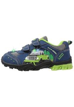 LICO - Zapatos con cierre adhesivo - marine/lemon