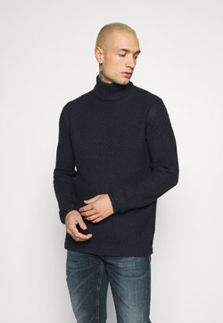 Only & Sons - ONSLOCCER - Sweter - dark navy
