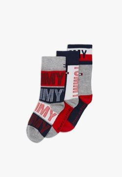 Tommy Hilfiger - KIDS SOCK GIFTBOX 3 PACK UNISEX - Sokken - dark blue