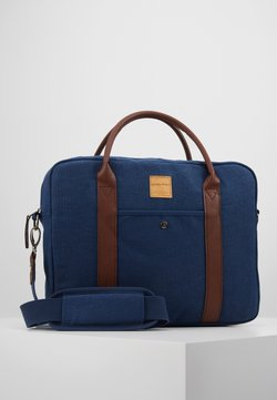 Jack & Jones - JACCANVAS BRIEFCASE - Portfölj - dark denim