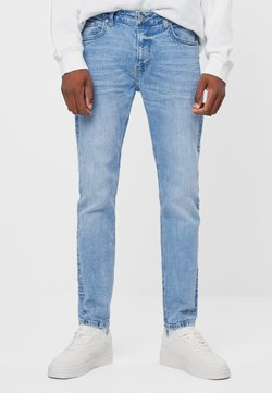 Bershka - Slim fit jeans - blue denim