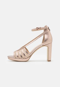 Anna Field - LEATHER - Sandalias de tacón - rose gold