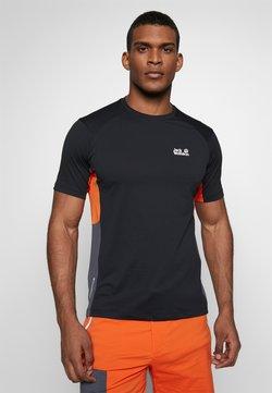 Jack Wolfskin - NARROWS - T-Shirt print - black