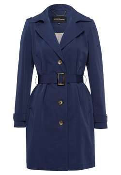 More & More - Trenchcoat - blue