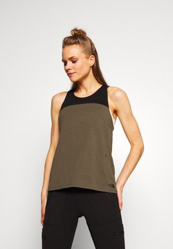 The North Face - WOMENS NORTH DOME TANK - Top - new taupe green/black