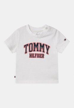 Tommy Hilfiger - UNISEX - T-shirt print - white