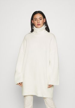 Monki - BOOK - Strickpullover - white light