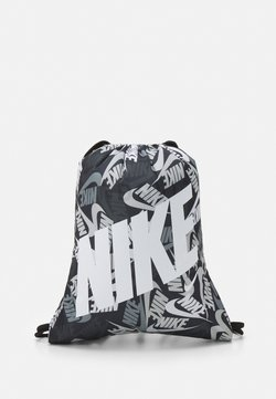 Nike Sportswear - KIDS GRAPHIC GYM SACK UNISEX - Gympapåse - black/white