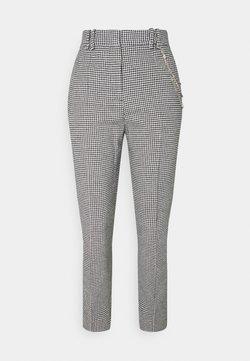 The Kooples - PANTALON - Pantalones - black/white