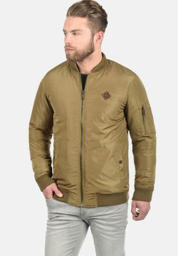 Solid - REGULAR FIT - Giubbotto Bomber - khaki