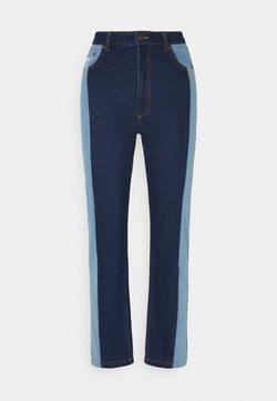 Karl Kani - OG BLOCK DENIM PANTS  - Relaxed fit jeans - blue