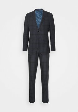 Michael Kors - OVERCHECK SLIM SUIT - Anzug - navy