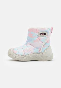 Keen - HOWSER II MID UNISEX - Obuwie hikingowe - silver birch/pink blush