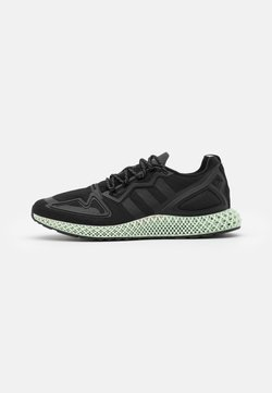 adidas Originals - ZX 2K 4D UNISEX - Sneakers laag - core black
