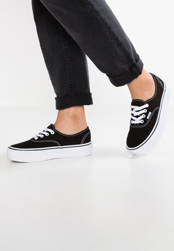 Vans - AUTHENTIC PLATFORM 2.0 - Sneakers basse - black
