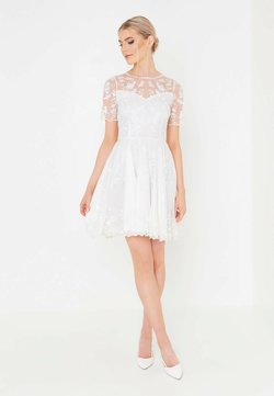 BEAUUT - Cocktailkleid/festliches Kleid - white