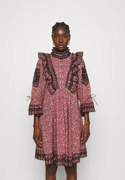 byTiMo - SLUB SHIFT DRESS - Freizeitkleid - pink