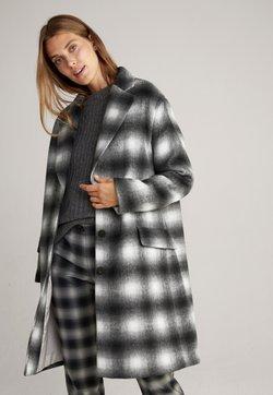 JOOP! - Klassischer Mantel - schwarz gemustert
