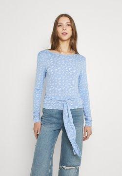 Envii - ENGARLIC TEE - Langarmshirt - light blue