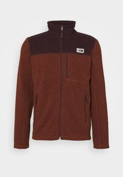 The North Face - GORDON LYONS FULL ZIP - Veste polaire - brown