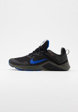 Nike Performance - LEGEND ESSENTIAL - Trainings-/Fitnessschuh - black/racer blue/newsprint
