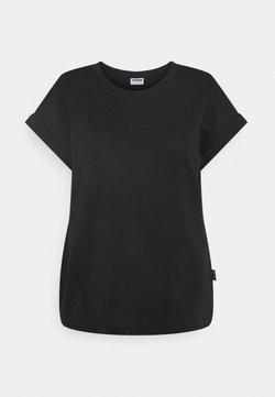 Noisy May - NMMATHILDE O NECK - T-Shirt basic - black