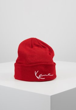 Karl Kani - SIGNATURE BEANIE - Pipo - red