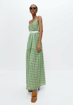 Uterqüe - Maxikleid - green