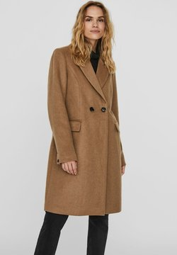 Vero Moda - Klasyczny płaszcz - sepia tint