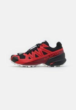 Salomon - SPEEDCROSS 5 - Zapatillas de trail running - goji berry/white/black