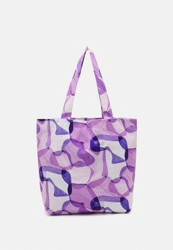 STUDIO ID - TOTE BAG PRINT UNISEX - Shopping bag - purple
