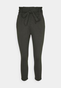 Vero Moda Petite - VMEVA LOOSE PAPERBAG PANT - Pantalones - peat