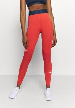 adidas Performance - ADILIFE - Tights - crew red/black/white
