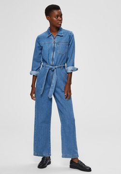 Selected Femme - AUSGESTELLTER - Haalari - medium blue denim