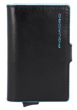 Piquadro - BLUE SQUARE LEDER - Visitenkartenetui - schwarz
