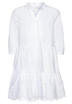 Grunt - ANNA DRESS - Blusenkleid - white
