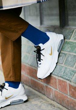 Nike Sportswear - AIR MAX 200 - Sneakers laag - white/metallic gold/black/metallic silver