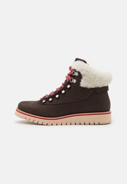 Cole Haan - ZEROGRAND EXPLORE HIKER WP - Snowboot/Winterstiefel - coffee bean/ivory/smokey grey